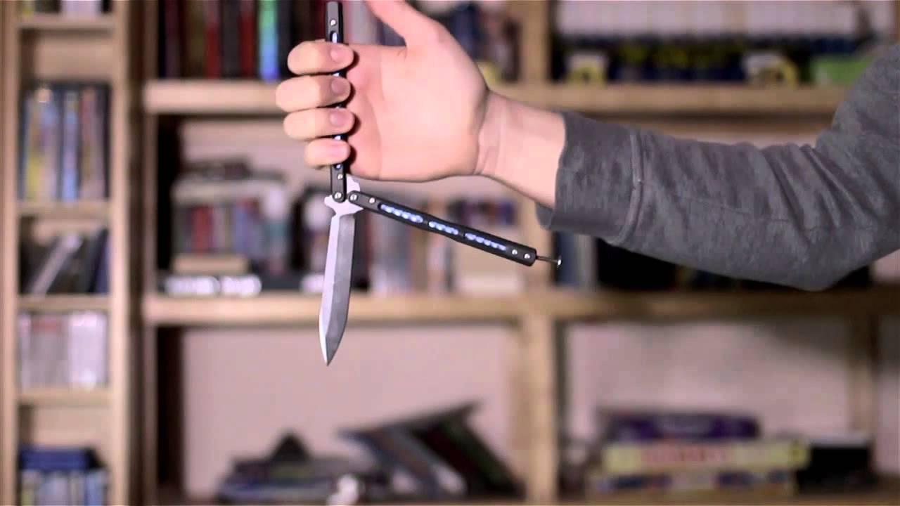 Jak opanować nóż motylkowy - Reverse Grip Fast Draw