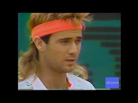 FULL VERSION Gomez vs Agassi French Open 1990
