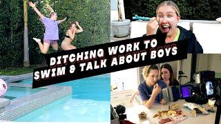 VLOG: DITCHING WORK TO SWIM & TALK ABOUT BOYS | TK