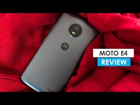 Moto E4 Full Review!