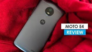 Moto E4 Full Review