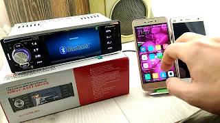 Китайская автомагнитола 4019crb подключаем смартфон