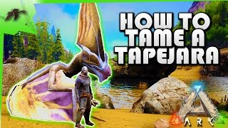 How To Tame A Tapejara(Easy!)- Ark Survival Evolved Xbox One- Kamz25