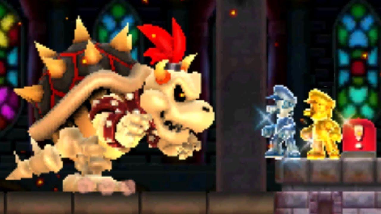 New Super Mario Bros. 2 - All Castles (2 Player)