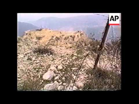 LEBANON: HEZBOLLAH FOOTAGE OF AN ATTACK ON ISRAELI FORCES