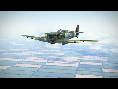 IL-2: Spitfire MkV vs Bf 109 F-4 (not for sensitive people)