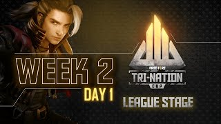Free Fire Tri-Nation Cup League Stage | Week 2 Day 1