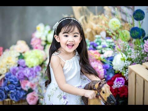 Quần áo trẻ em giá sỉ Veco tại Hà Nội - bộ sọt bé giá 3 nơ xinh xắn