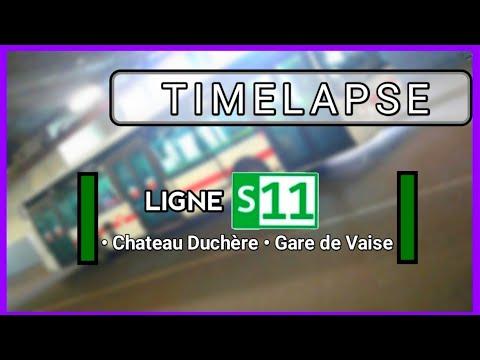 LIGNE S11 - CHÂTEAU DUCHÉRE/GARE DE VAISE