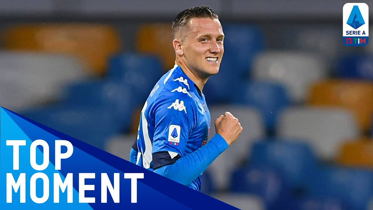 Zielinski Scores First Of Five Goals For Napoli | Napoli 5-1 Udinese | Top Moment | Serie A TIM