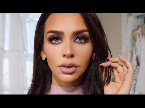 Get Ready w Me: GO TO Mauve Look! Carli Bybel Palette