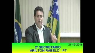 Pronunciamento Arilton Rabelo 21 10 16