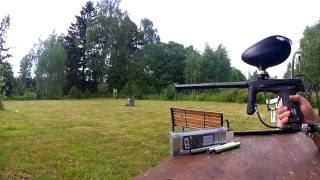 Тест ствола Eclipse Shaft 4 с калибровочной вставкой