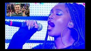 IMPERDÍVEL!  ( iza ) canta I Put a Spell on You, | Nina Simone, no CALDEIRÃO do HULK  | 🎼Salac Music