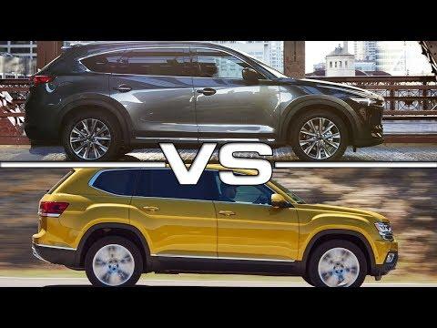 2018 Mazda CX-8 vs 2018 Volkswagen Atlas