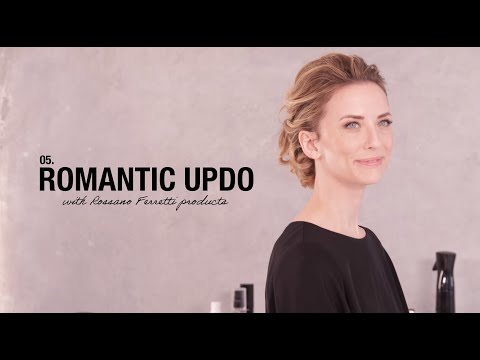 Romantic Updo - How To Use Rossano Ferretti Products