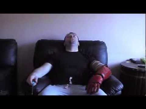 irish iron man 2 full pepakura armour