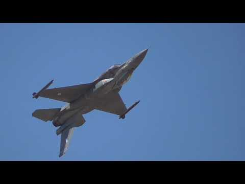 Athens Flying Week 2017 HAF F-16 Zeus Demo Team
