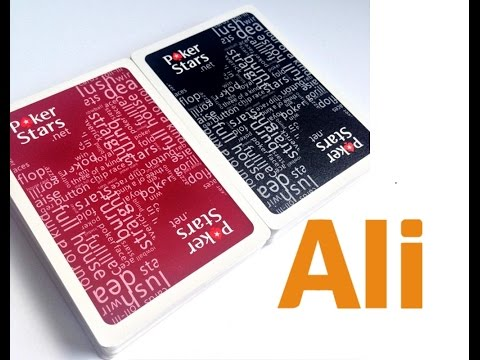 Лучшие игральные 100% пластиковые карты Техасский Холдем Poker Stars Aliexpress 6$
