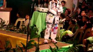 Mr.&Ms. Nature-recycled costume