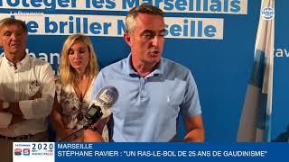 """Municipales à Marseille - Stéphane Ravier : """"Un ras-le-bol de 25 ans de Gaudinisme"""""""