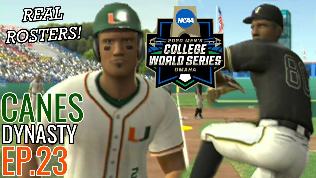 Facing Kumar Rocker! | Miami Road to 2020 College World Series #23 | MVP 07 NCAA Baseball (PS2)