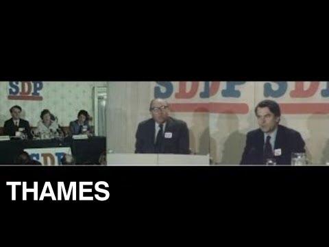 British Politics - Social Democratic Party Launch - 1981