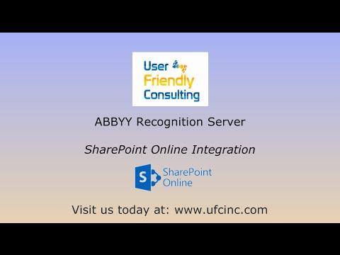 ABBYY FineReader Server to SharePoint Online - YouTube