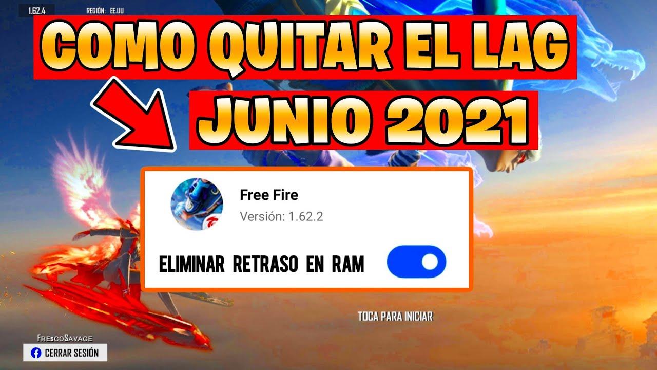 COMO QUITAR EL LAG EN FREE FIRE 2021   NUEVA ACTUALIZACION   GAMA BAJA 🚀