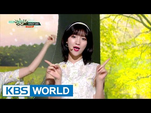 OH MY GIRL (오마이걸) - WINDY DAY [Music Bank / 2016.06.17]