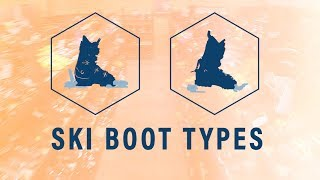 Ski Boots - How To : Ski Boot Types