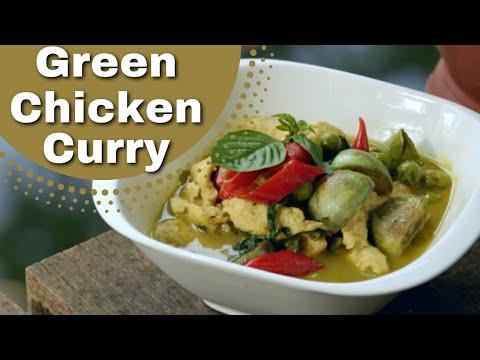 Thai Green Chicken Curry Recipe  ❤️️