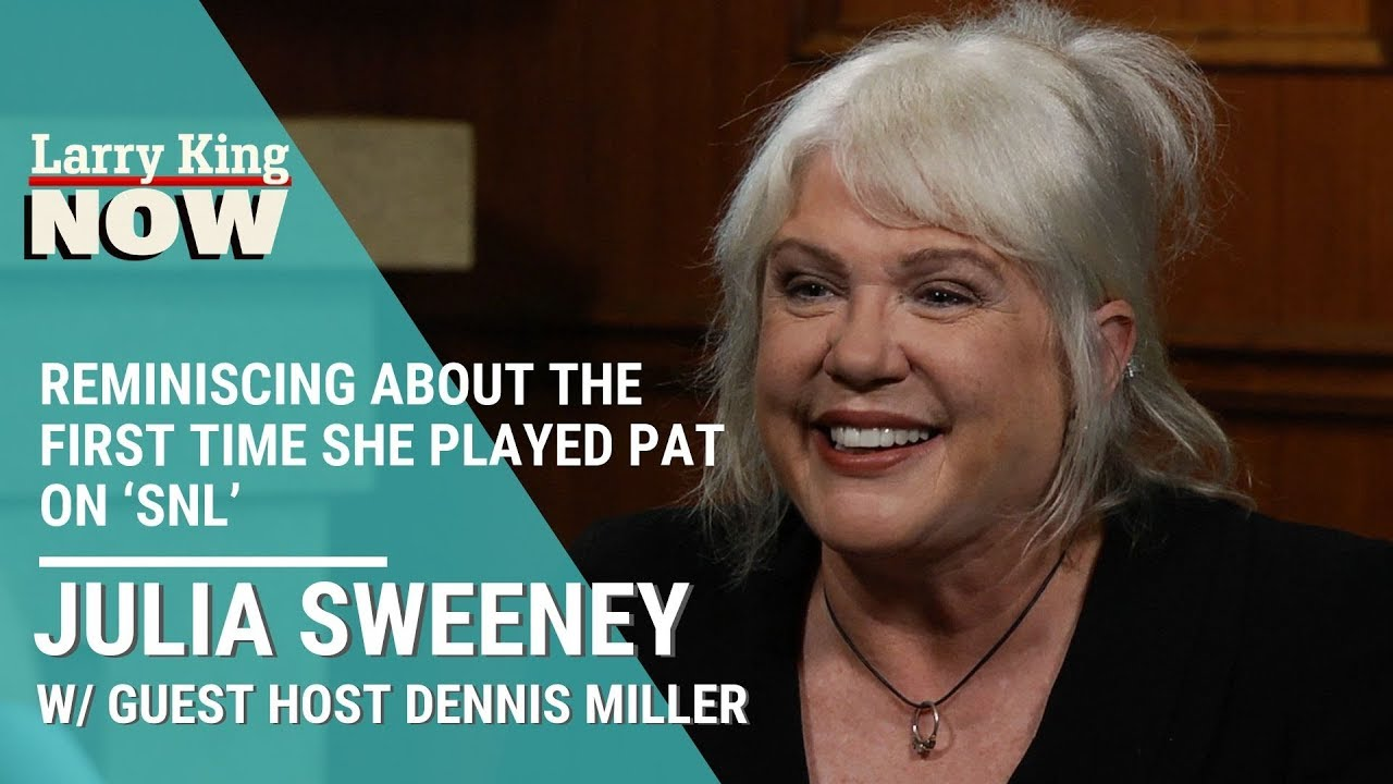 Download Julia Sweeney Reminisces About The First Time She Played Pat On 'SNL'