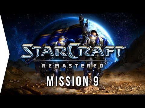 StarCraft: Remastered ► Terran Mission 9: New Gettysburg - [Campaign Gameplay]