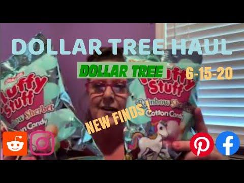DOLLAR TREE HAUL | SNACK ZONE 😱 6-15-20