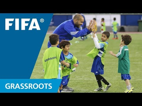 Fun and football foundations with FIFA