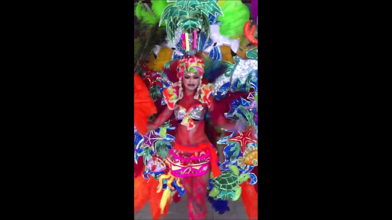 Carnaval nicaragua 2012 traje de fantas a youtube - Trajes de carnaval de epoca ...