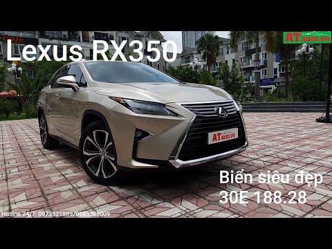 👉[XE ĐÃ BÁN] LEXUS RX350 2016 NHẬP NHẬT rất đẹp mới 99% - Biển đẹp 30E 188.28. Giá rất hợp túi.!