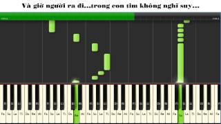 Hướng dẫn bài Em không quay về piano