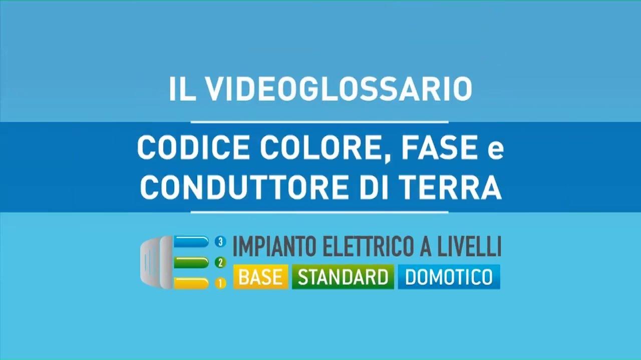 Colori impianto elettrico for Fase e neutro colori