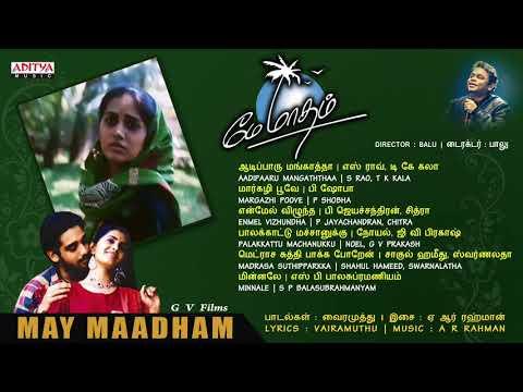 May Maadham Tamil Full Songs Jukebox || Vinith, Sonali || A.R.Rahaman