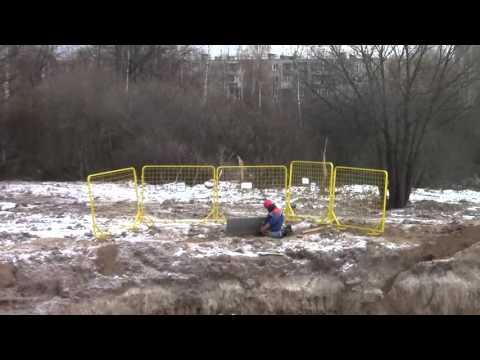 Electrical safety in Russia puncture cable