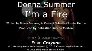 "Donna Summer - I'm A Fire LYRICS - SHM ""Crayons"" 2008"