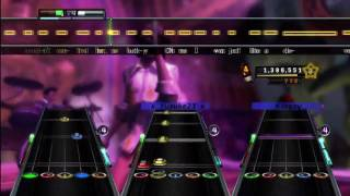 Low - Flo Rida (Travis Barker Remix) (Feat. T-Pain) Expert Full Band Guitar Hero 5