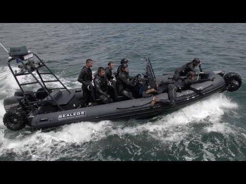 SEALEGs Amphibious Vessel Training