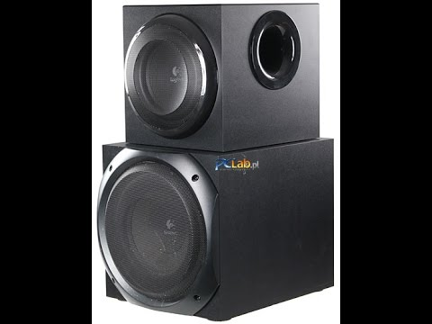blowing philips sub with logitech z623 amp