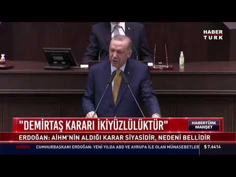 """Cumhurbaşkanı Erdoğan: """"Demirtaş kararı ikiyüzlülüktür"""""""