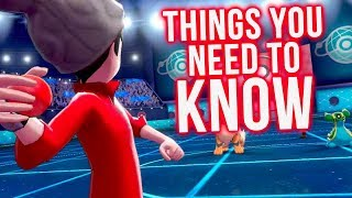 Pokemon Sword & Shield: 10 Things You NEED TO KNOW