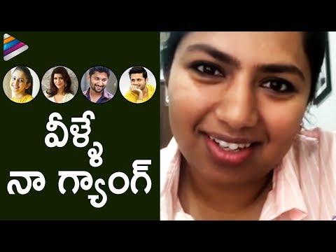 Neeraja Kona About Her Gang   Neeraja Kona LIVE Interaction With Frustrated Woman   Telugu FilmNagar