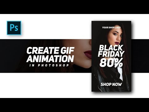 How To Create Professional GIF Animation For Banners Advertising Website - #Photoshop Tutorials